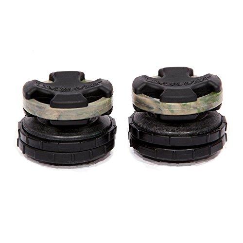 LimbSaver Broadband Dampener for Split Limb Compound Bows, Camouflage, 2-Pack