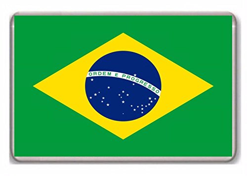 Bandera de Brasil/nevera/imán.!!!!!