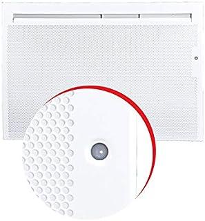 TRESCO 17650 - Panel radiador eléctrico vertical, color gris
