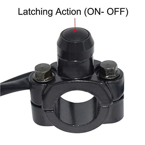Interruptor de Moto 7/8' 22mm Manillar de la Motocicleta Monte el Interruptor de botón de Inicio de la Linterna de energía Luces antiniebla Kill Interruptores