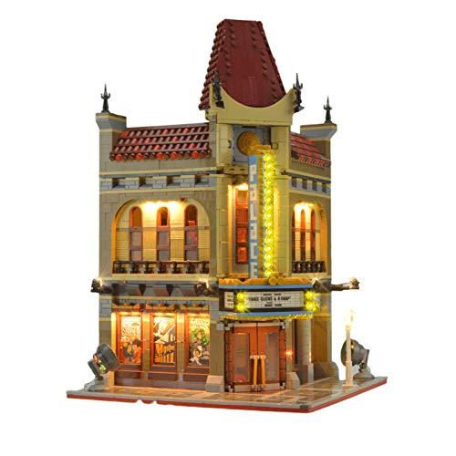 Led-beleuchtungsset Für 10232 Architecture Cinema Street View-modell (nur Beleuchtungssets, Keine Bausteine)