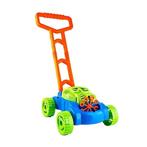 Bdesign Césped burbuja Mower, bebé burbuja Walker, estimular la imaginación del cuerpo ejercicio de coordinación automática de burbujas burbuja de pulverización del cortacésped for niños al aire libre
