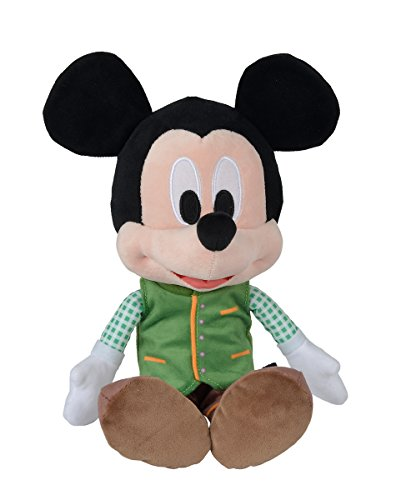Simba 6315875754 Disney Lederhosen Mickey, Neu, 25cm Plüschtier