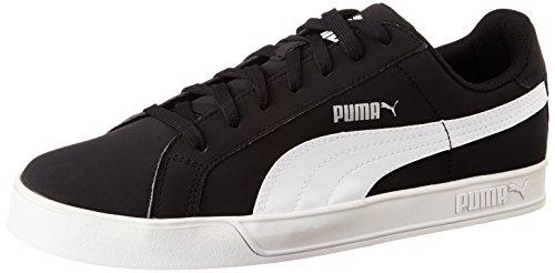 PUMA Smash Vulc, Zapatillas Unisex Adulto, Negro (Black/White), 41 EU