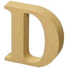 マルカイコーポレーション インテリア オブジェ アルファベット レター 木製 D