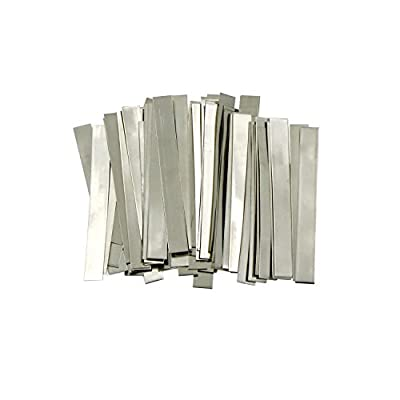Pure Nickel Strip- 99.6% Nickel for 18650 Soldering Tab for High Capacity Lithium, Li-Po Battery, NiMh and NiCd Battery Pack Battery and Spot Welding, a U.S. Solid Product