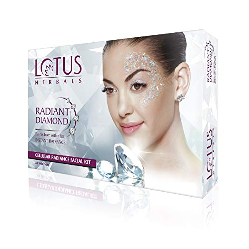 Lotus Herbals Radiant Diamond Facial Kit, 37g