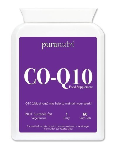 Puranutri Co-Enzyme Q10 (COQ10) 300mg 60 Soft gels
