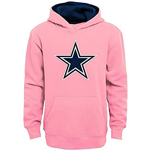 NFL Dallas Cowboys Prime Youth Mädchen Fleece Pullover Hoodie, Pink, XL