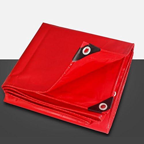Bache De PVC Rouge Super écran Solaire Imperméable à L'eau Canopée Couteau Linoléum Tissu Tricycle Couverture De Camion Super Fort Usure Normale Antigel Durable Anti-Acide Anti-Corrosion,400500Cm