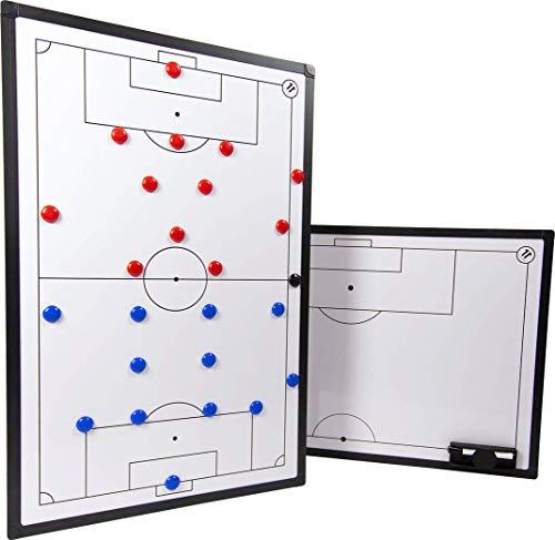 ELF Sports Premium Magnet - Fußball Taktiktafel inkl. Zubehör - beidseitiger Druck - 3 Größen wählbar, Größe:60 x 45 cm