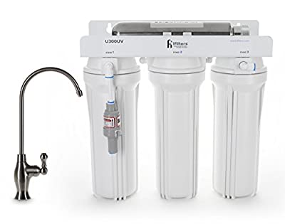 U300UV Ultraviolet UV Drinking Water Filtration Purifier System 4 Stage Ultimate Filter and Sterilize - Built in USA