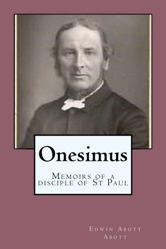 Onesimus: Memoirs of a disciple of St Paul