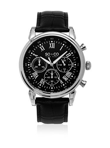 So & Co new York Reloj de Cuarzo Man Men's Quartz Chronograph Watch 44.0 mm