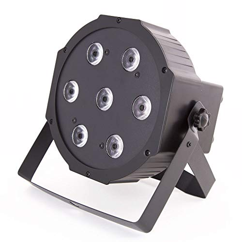 ETEC Quad LED PAR Scheinwerfer 7x10 Watt RGBW 4in1