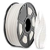3D Printer PLA Filament 1.75, White PLA Filament 1.75mm, Fit FDM 3D Printer, 1KG Spool, PLA White
