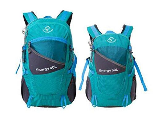 zaino trekking arrampicata all'aperto uomini e donne borsa tracolla zaino esterno borsa trekking 30l40l Zaini da escursionismo ( Colore : Emerald , dimensioni : 30L )