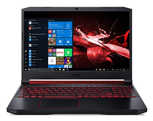 Laptop Acer Nitro AN515-54-76WR 15.6'' FHD IPS (1920 x 1080) Intel Core i7-9750H NVIDIA GeForce RTX 2060 6 GB DDR6 - MaxP 16GB DDR4 1024GB PCIe NVMe SSD (Intel 600P) Win 10 (French keyboard)