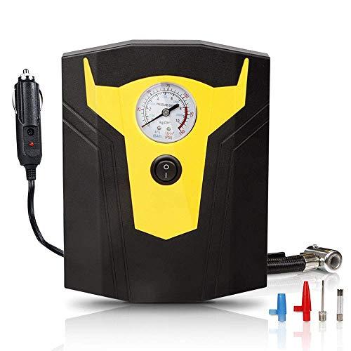 XKCQG 12V DC Portatil Electrico Coche Compresor de Aire Banda Manometro Digital...