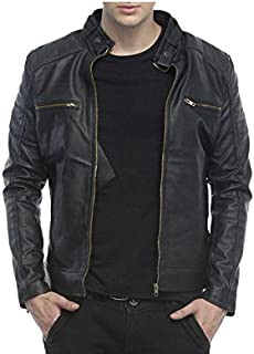 e29c947969 Leather Men's Winterwear: Buy Leather Men's Winterwear online at ...