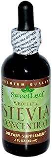SweetLeaf Stevia Concentrate Whole Leaf Dietary Supplement 2 FZ (Pack of 9)
