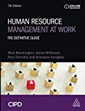 Human Resource Management at Work: The Definitive Guide