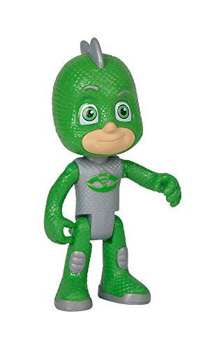 Simba 109402146 - PJ Masks Spielfigur Gecko im besonderen Outfit