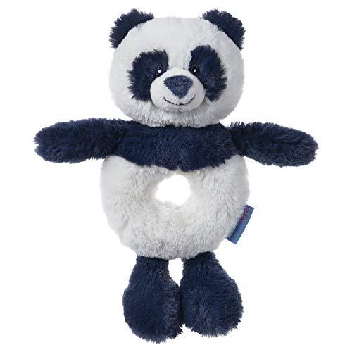"Spin Master Baby GUND Baby Toothpick Cooper Panda Rattle Plush Stuffed Animal, Blue, 7.5"""