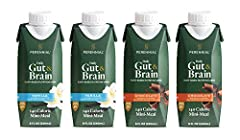READY-TO-DRINK MINI-MEAL: Enjoy this daily, vegan nutrition boost – Smartly crafted to fill in the nutrient gaps of adults >50 with 11 essential vitamins and minerals, 5g of fiber, 32 of plant based DHA Omega-3s. SMOOTH & SATISFYING TASTE & TEXTURE: ...
