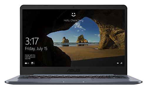 Asus VivoBook E406 E406SA-BV011T Notebook, Display da 14', Processore Celeron N3060, 1.6 GHz, eMMC da 64 GB, 4 GB di RAM, Dark Grey [Layout Italiano]