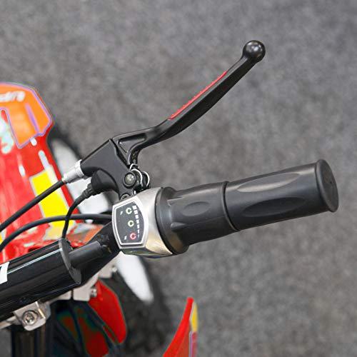 MAF Evolution MX1000 Electric Dirt Bike 800 watt motor 36 volt - Red