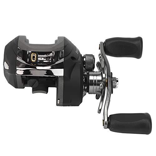 Alomejor1 Mulinelli da Pesca Mulinello da Spinning Corpo Interamente Corpo Ultraleggero Potente Trota Carpa Spinning Gear(Mano Sinistra)