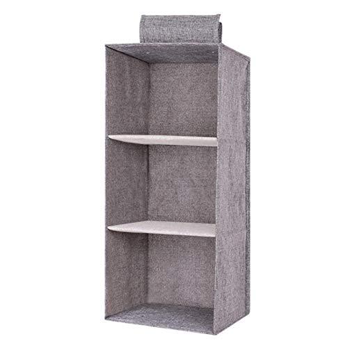 Matedepreso Organizador para colgar en el armario, estantes de almacenamiento de armario plegable, organizador de tela para colgar zapatos, botas, bolsos de mano para guardar guardarropa