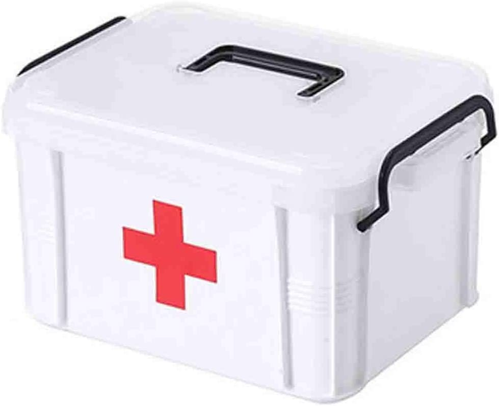 Lsxlsd Plastic New Shipping Free Multi-Layer Medical Kit Stor Be super welcome Box First Family Aid