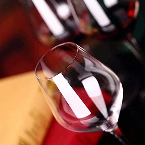 Hecho a Mano / 400ml Crystal Red White White Copas de Vidrio Coctel de Vino Copos de Vino Jugo Vino Beber Gafas Tazas Inicio Fiesta de Boda (Tamaño: Juego de 4) / Código de Productos básicos: LQQ-90