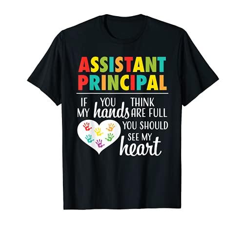 Assistant Principal Appreciation Cute Gift Tshirt for Women T-Shirt