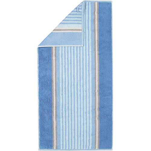Cawö Home handdoeken Florentine strepen 197 blauw - 11