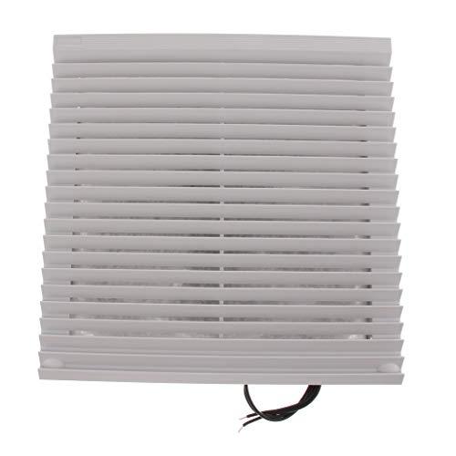 P Prettyia Radiador de Ventilador de Armario Eléctrico Montaje en Pared para Sistema de Refrigeración - 10 Pulgadas