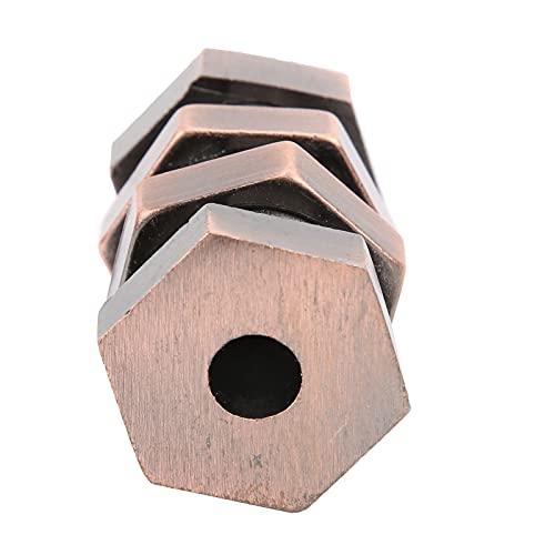 SALALIS Juguete Educativo de desbloqueo, Material de aleación Juguete de desbloqueo para Adultos...