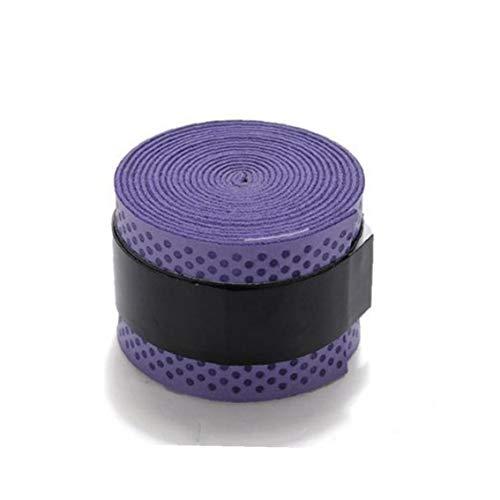 Tennisschläger Grip Tape Ultra-Absorption Guter Anti Slip Schläger Over Für Tennis Badminton Squash-Schläger-Ball-Schläger Lila