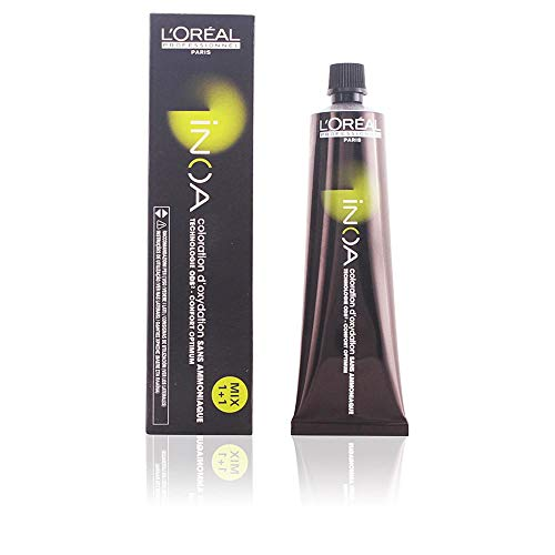 L'Oréal Inoa - Oxidative Coloration Ohne Ammoniak 8,1 Hellblond Asch, 1er Pack (1 x 60 ml)