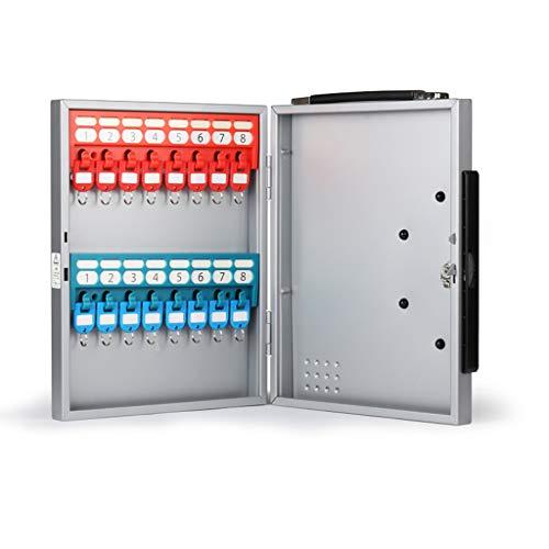 Armoires à clés boîte à clés 16 boîte à clés Portable boîte de clés de Voiture boîte de Gestion de clés Armoire de Rangement Mural boîte de Rangement de clés à Plusieurs rangées