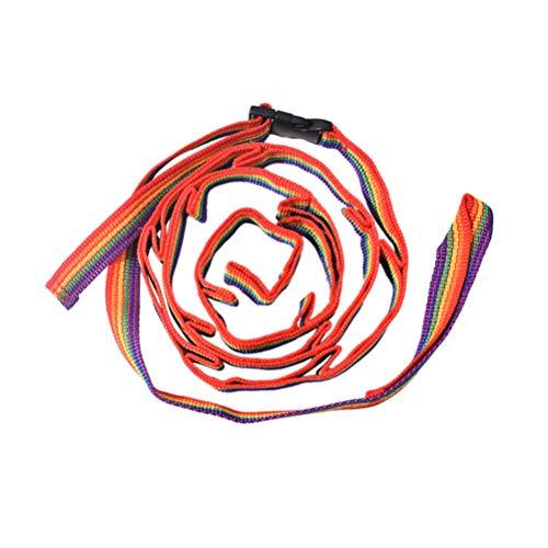 LIOOBO Colorida Tienda Colgando Cuerda de La Tienda Cuerda de La Lámpara Lámpara del Arco Iris Linterna Colgar Cordón Cuerda Acampar Al Aire Libre
