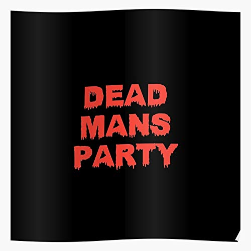Party Boingo 80S Oingoboingo Dead Knights Mystic The Band of New Wave Oingo Mans I 80s-Motivation - Trendy Poster for Wall Art Home Decor Room