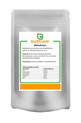 5 kg Maltodextrin   Malto Dextrin   Zucker   Kohlenhydrate   rein   Buxtrade   Maisstärke