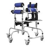 Joyfitness Caminante Vertical Portátil para Niños con Parálisis Cerebral, Discapacidad, Entrenamiento De Rehabilitación, Ayuda para Caminar para Pacientes Discapacitados Y con Movilidad Limitada