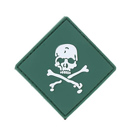 suoryisrty Military Armband PVC Gummi Taktische Moral Patch Haken Schleife Emblem Kampf Abzeichen 36#