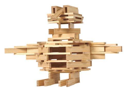 Kapla 100er Box Original Holz Bausteine Plättchen Klötze - 7