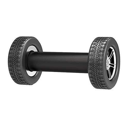 YQCH Sacudiendo Peso Single Dumbbell Man Mujeres para Mantener el Entrenamiento Fitness Equipo de Ejercicio DVD Incluido Muscle Toning Dumbbell, 2 kg
