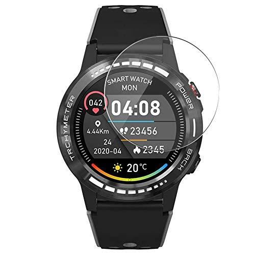 Vaxson 3 Stück Schutzfolie kompatibel mit PRIXTON SW37 M7 M7S smartwatch Smart Watch, Displayschutzfolie Bildschirmschutz Blasenfreies [nicht Panzerglas]